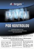 Titulná strana brožúry k produktu DETEGAS, firma EMINEO Industiral s.r.o.
